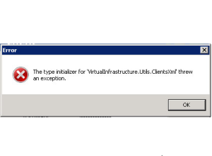 vsphere-client-threw-exception-error